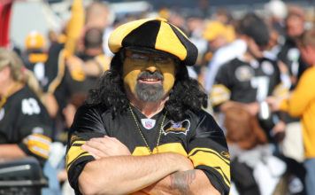 Steelers fan