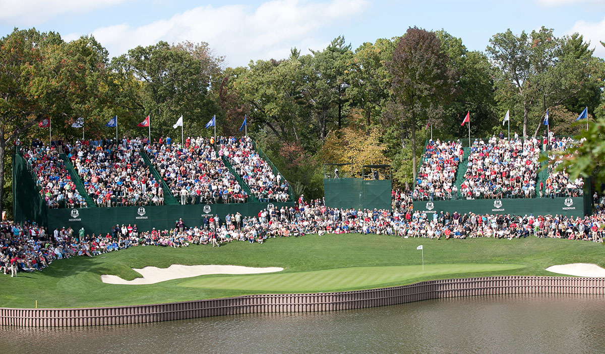 Ryder Cup, Medinah, Illinois (photo courtesy of Omar Rawlings).