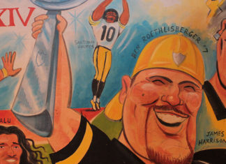 Steelers painting