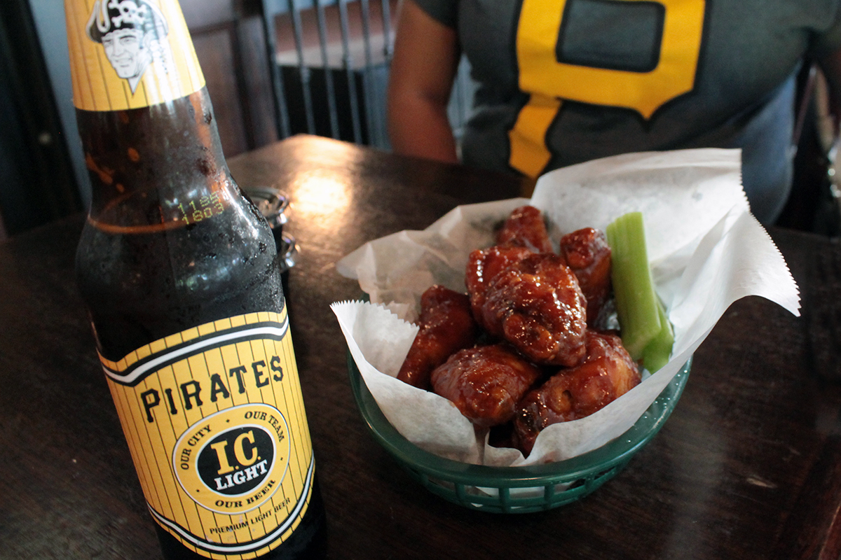 iron city beer and wings