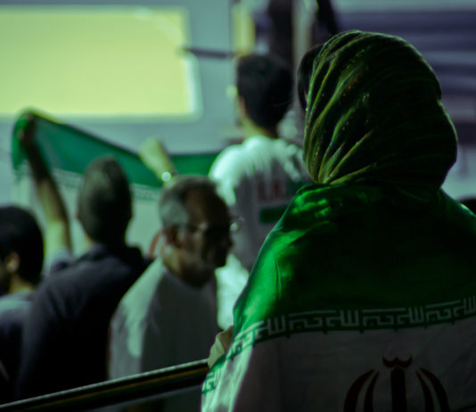 female iranian fan